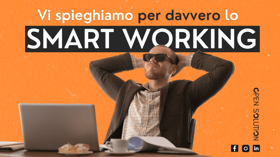 Cos'è lo smart working