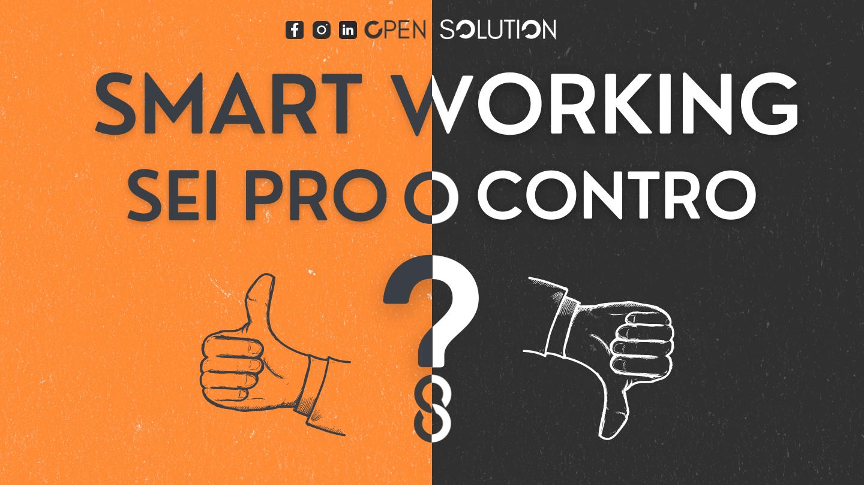 Smart working: pro o contro?